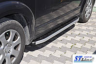 Chrysler Voyager Боковые площадки Fullmond (2 шт., алюминий)