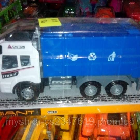 Детская инерционная машины мусоровоз 189.