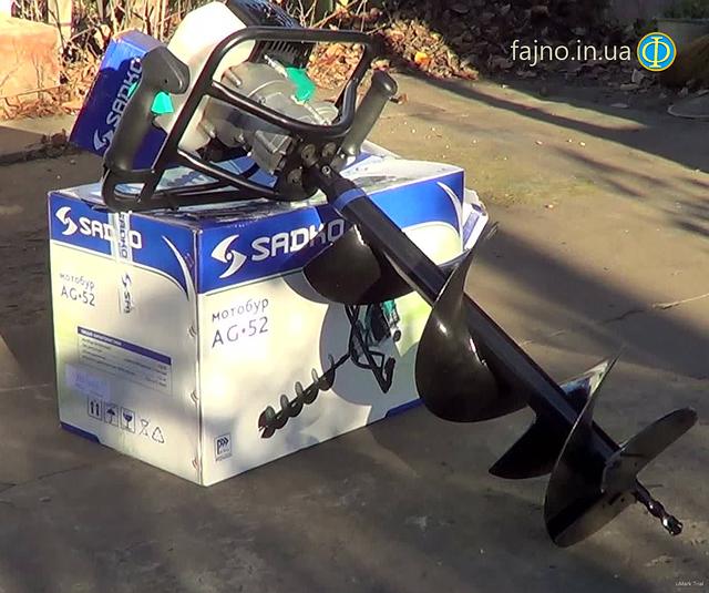 Ямобур Sadko AG-52 (шнеки 150, 200, 250, 300)