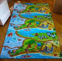 Детский развивающий игровой коврик L 1500х1200x8
