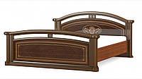 Алабама кровать 160 (Мебель-Сервис)  вишня портофино  2169х1900х977мм