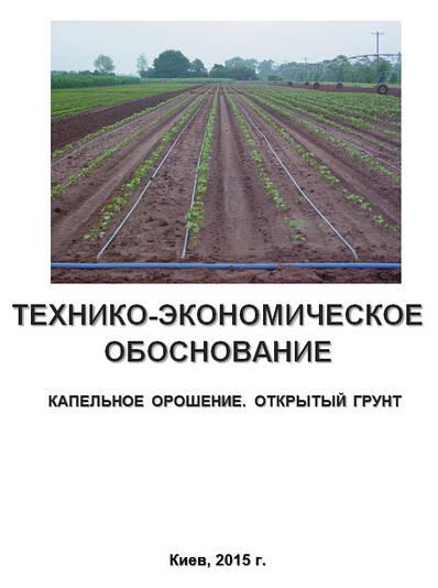 Бизнес – план (ТЭО). Выращивание овощей. Открытый грунт. Капельное орошение.