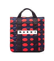 Обзор мужской сумки-рюкзака для покупок Marni