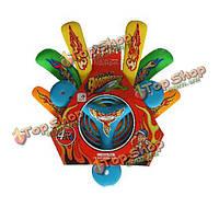 4 штуки АБС безопасности мягкая летающая тарелка бумеранг набор спорта на открытом воздухе игрушки