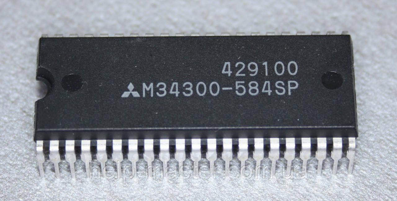 Процессор M34300-584SP; (SDIP-42)