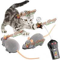 Страшно радиоуправляемые моделирование плюшевые игрушки мыши с пульта дистанционного управления