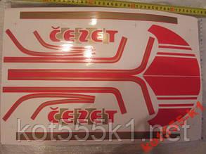 Наклейка Чезет 350 Фирменная Чехия