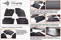 Peugeot 308 2007-2013 гг. Резиновые коврики (4 шт, Stingray Premium)