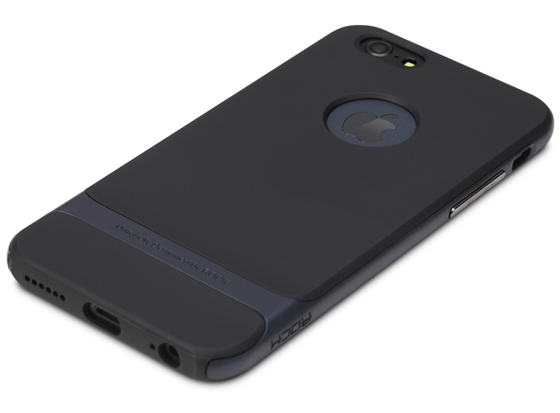 Чохол бампер Rock Royce Series для Apple iPhone 6 Plus - Navy Blue