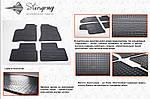 ВАЗ 2110-21115 Резиновые коврики (4 шт, Stingray Premium)