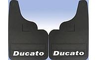 Fiat Ducato 1995-2006 гг. Брызговики прямые (2шт)
