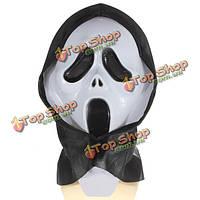 Сумасшедший напугал крик духа маска для лица костюмированный бал карнавал Хэллоуин