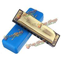 Лебедь sw10-4 10 Hole 20 тон диатоническая губная гармоника ключ с