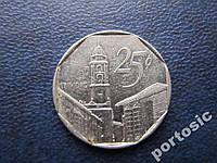 25 сентаво Куба 1994 интур