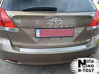 Toyota Venza Накладка на задний бампер Натанико (нерж)