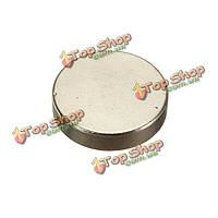 Неодимовый дисковый магнит 20мм x 5мм n35