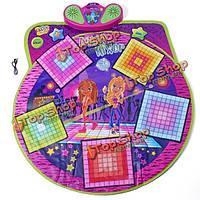 Танцевальный коврик микшер музыкальный ковер встроенный усилитель