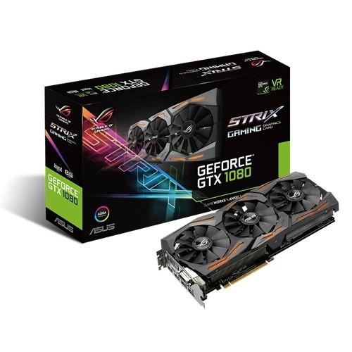 Видеокарта ASUS GeForce GTX1080 8GB GDDR5X
