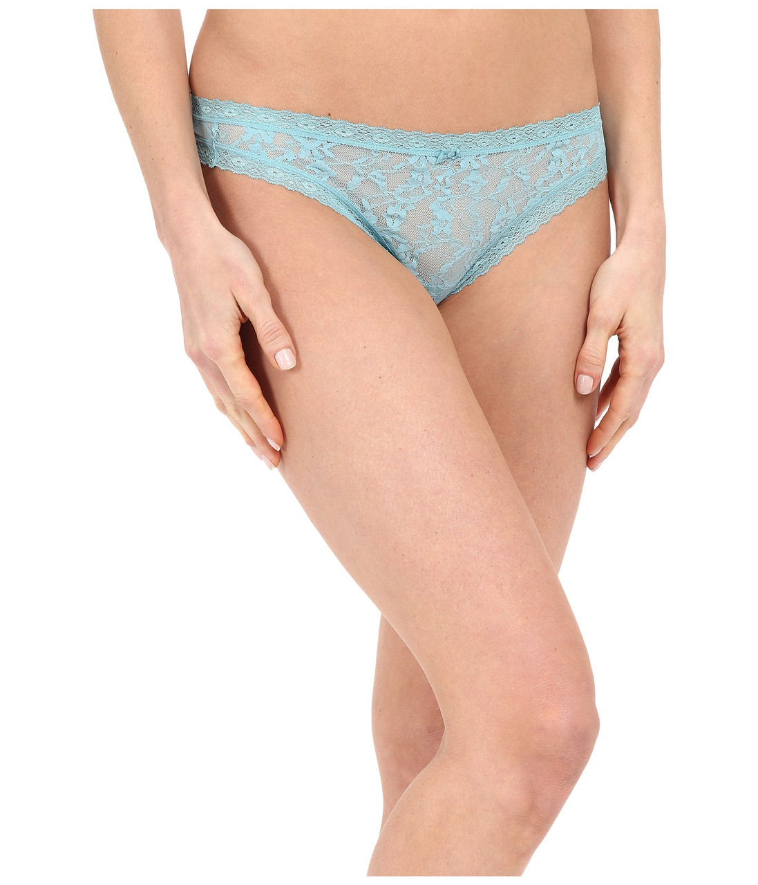 Трусики DKNY Lace Thong, Light Jase, фото 1