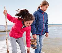 Куртка детская для девочки двухсторонняя