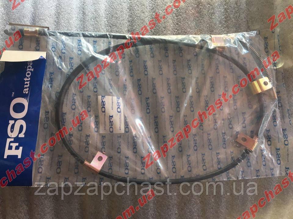 Трос ручного тормоза (ручника) Ланос Lanos Сенс Sens левый FSO (96230545-FSO)