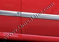 Ford Fiesta 2002-2008 гг. УЦЕНКА!!! Молдинг дверной (2002-2006, 4 шт, нерж)