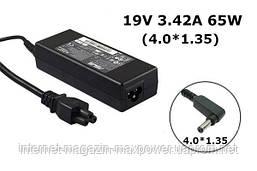 Блок живлення для ноутбука Asus 19V 3.42 A 65W (4.0*1.35) ADP-65AW, UX32VD, UX31A, UX21A, BX21A, ADP-65AW A