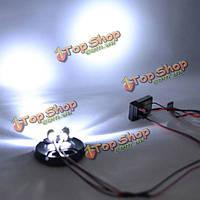 Модель дрифт кар LED голова и задние фары с лампой чашки