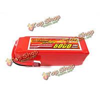 Гигант 5000mAh питания 6S 22.2V 30C высокая производительность батареи липо