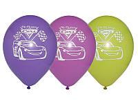 """Воздушные шары """"Тачки"""" 12""""(30 см) aссорти пастель. В упак: 50 шт."""