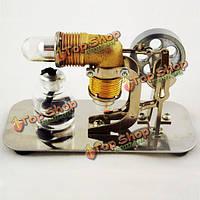 Мини горячий воздух двигатель стирлинга Модель двигателя обучающие игрушки наборы