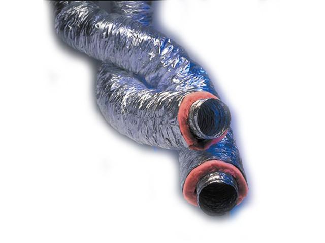 Воздуховод гибкий термоизолированный ATCO (Европа) Isoconnect B25MP 8'' (203 мм) 10 м