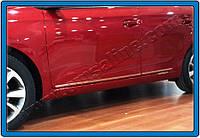 Hyundai I-20 2014+ гг. Молдинг дверной (4 шт, нерж)