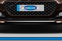 Hyundai I-20 2014+ гг. Накладка на решетку бампера (нерж)