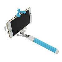 Селфи-монопод UFT 2G MINI со шнуром Light Blue