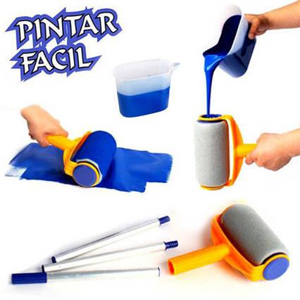 Валик з резервуаром для фарби Pintar Facil, фото 2