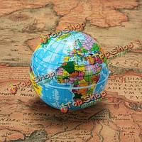 60мм пенопласта карта мира глобус земли география мяч
