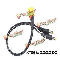 T или XT60 разъем для кабеля питания постоянного тока для FPV системы