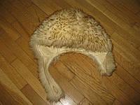 Шапка Кожаная с Мехом, размер 56-57 см