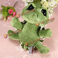 20см прекрасные большие глаза черепаха зеленая черепаха плюшевая мягкая игрушка в подарок игрушка