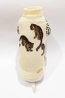 """Свитер """"Леопард"""" размер S(24см)Vip Doggy"""