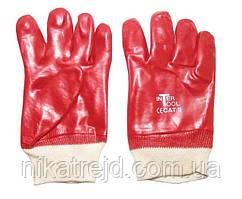Перчатка масобензостойкая (красная)
