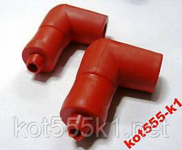Надсвечник силиконовый 2t красный 2шт