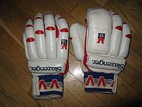 Перчатки для крикета SLAZENGER V12 COUNTY, КОЖА, L
