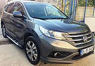 Honda CRV 2012-2016 гг. Боковые площадки Sunrise (2 шт., алюминий)