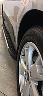 Ford Ranger 2007-2011 гг. Боковые площадки Duru (2 шт., алюминий)