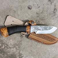 Охотничий нож в подарок Охота на фазана knife