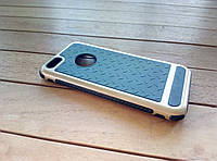 Чехол-накладка для iPhone 5/5s/SE black-gold