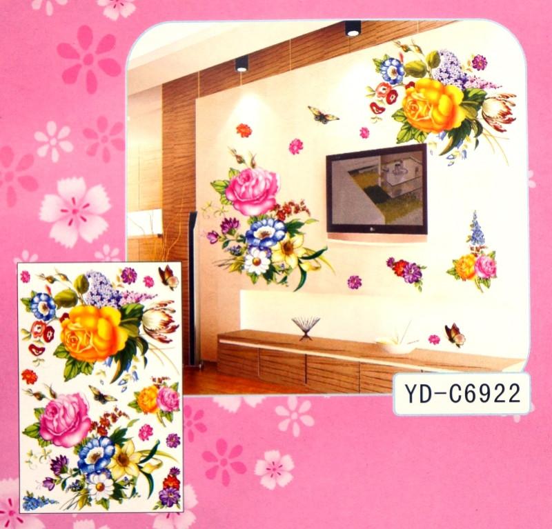 3D Декор - инсталляция ДВА БУКЕТА YD-C6922