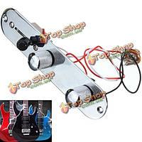 Кром теле заранее проводной регулятор горшки контроль пластина для Fender теле гитары
